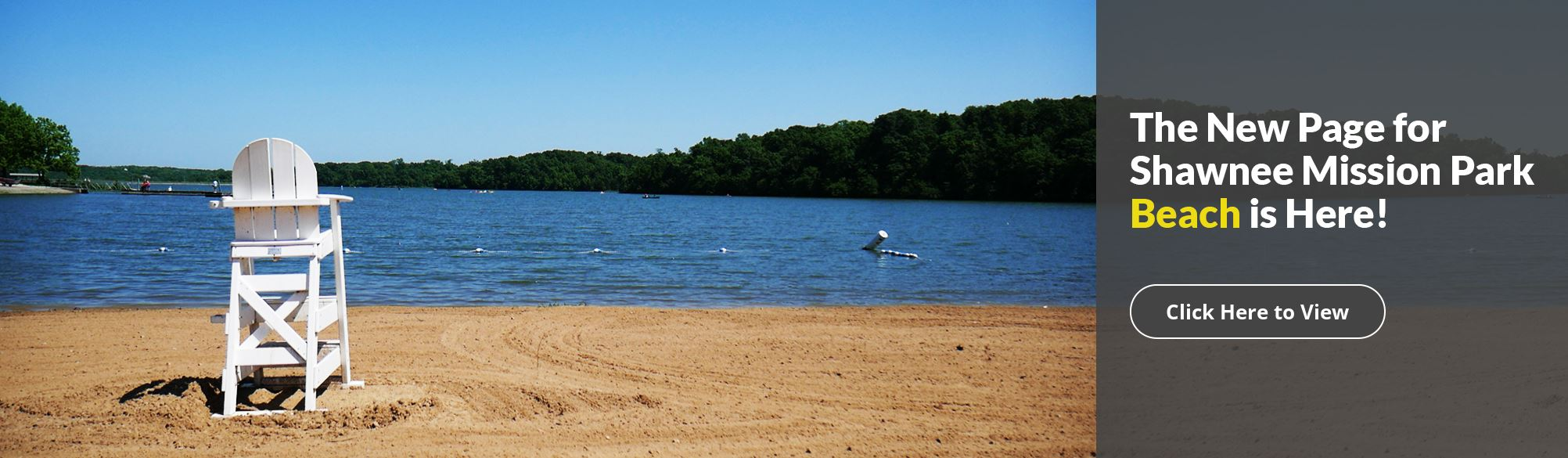 Button to Full Page for Shawnee Mission Park Beach