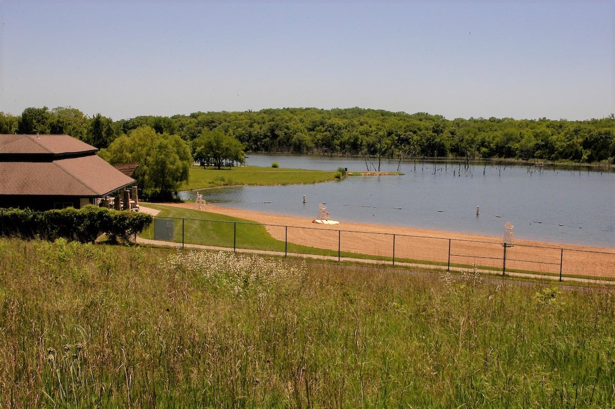 A view of Kill Creek Park beach from the west.