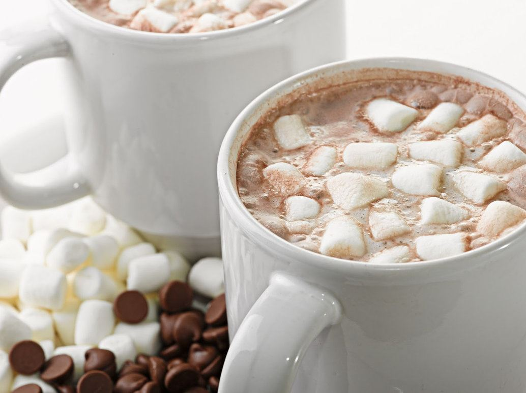 Yummy Hot Chocolate and Marshmallow Molding