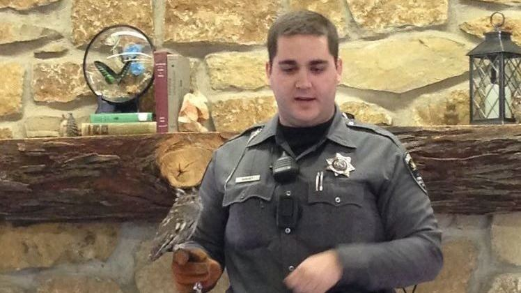 Park Police with Owl