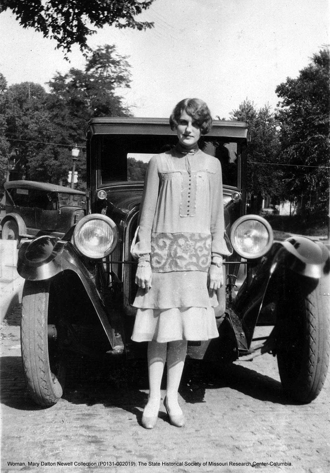 Museum - Lunch and Learn 1920s fashion withcreditline_SHSMo Woman with Automobile